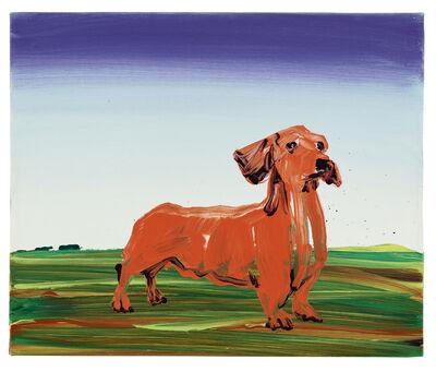 Cornelius Völker, 'Hund – Dackel', 1999