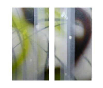 Jane Guthridge, 'The Space Between diptych 4'