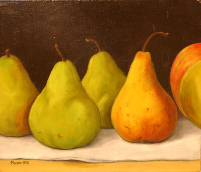 Maceo Mitchell, 'Four Pears and Two Partial Apples', 1995