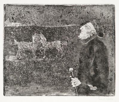 Emil Nolde, 'Der Landwirt (Farmer)', 1918