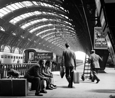 Elio Ciol, 'Stazione di Milano', 1961