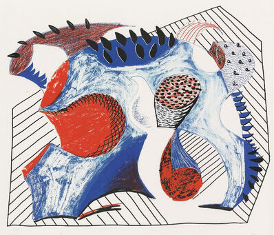 David Hockney, 'Untitled for Joel Wachs', 1993