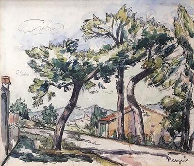 Henri Manguin, 'Route de Gassin', 1874-1949