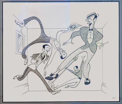 Al Hirschfeld, 'Royal Wedding', 1987