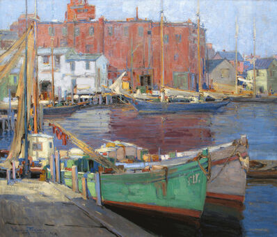 Walter Farndon, 'The Docks, Gloucester, Massachusetts', 19th -20th Century