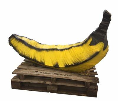 Bananensprayer Thomas Baumgärtel, 'Betonbanane', 2000-2007