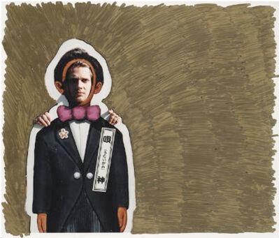 Slater Bradley, 'Gold Tokyo Cut Out Tux', 2007
