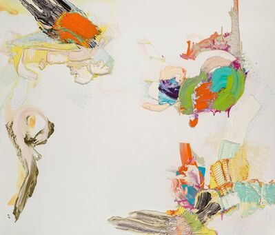 Pia Fries, 'Blitzing', 2001
