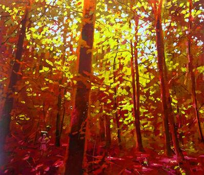 "Jerry Veldhuizen, '""I trekked a forest unimaginably luxuriant""', 2018"
