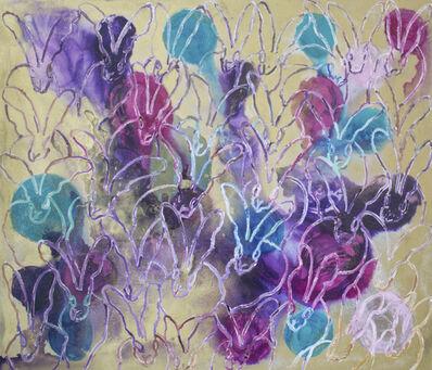 Hunt Slonem, 'Lavender Twist (New Line) ', 2018