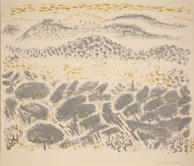 André Masson, 'Landscape with Rocks', 1956