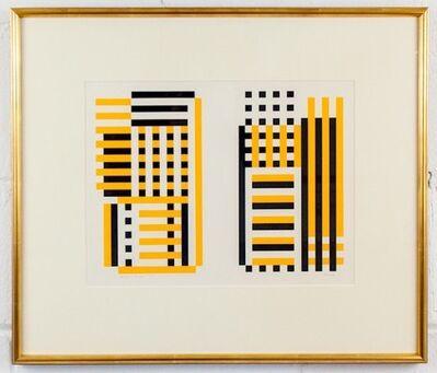 Josef Albers, 'EA', 1973