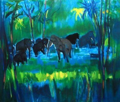 Marcel Mouly, 'Elephants'