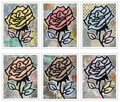 Donald Baechler, 'Rose Portfolio ', 2015