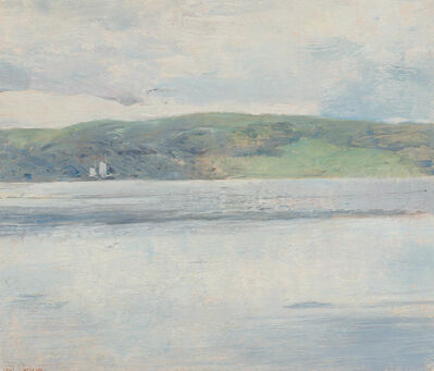 Soren Emil Carlsen, 'Calm Seascape'