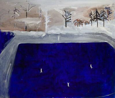 Tutu Kiladze, 'Pool in the winter', 2019