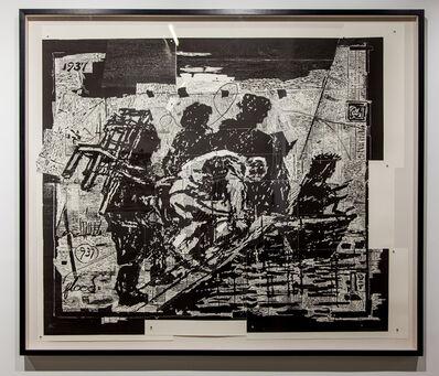 William Kentridge, 'The Flood', 2017