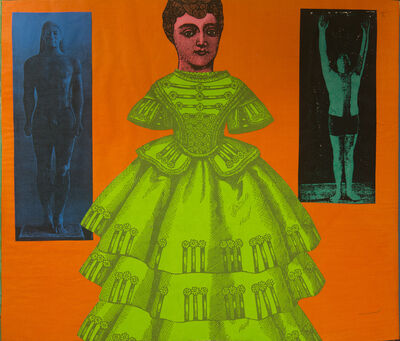 Larry Lewis, 'Untitled (Green Dress)', ca. 1970