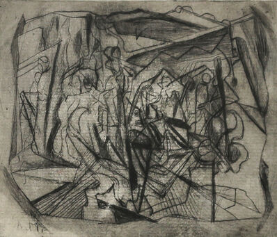 Alfred Morang, 'Untitled (Abstract Forms)', 1947