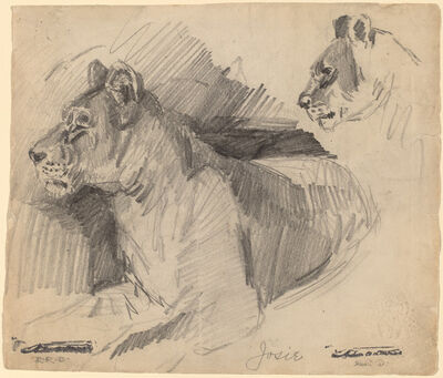 Arthur Bowen Davies, 'Josie', 1892