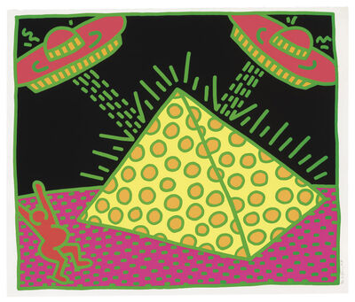 Keith Haring, 'Fertility Suite, Untitled 2 ', 1983