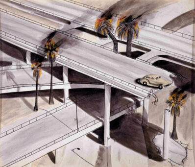 Kenny Scharf, 'Highway Disaster', 1978