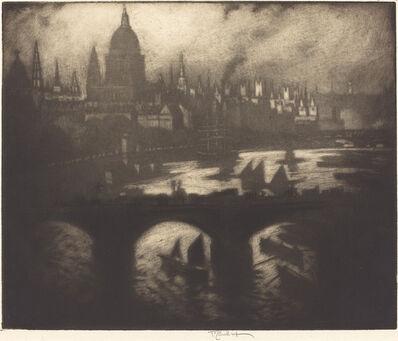 Joseph Pennell, 'Wren's City', 1909