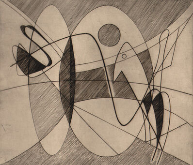 Stanley William Hayter, 'Cavaliers', 1933