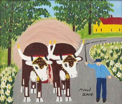 Maud Lewis, 'Hay Ride', 1960