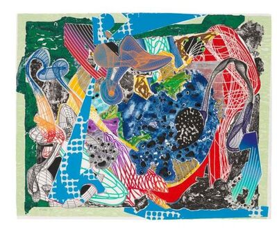 Frank Stella, 'Frank Stella, Swoonarie from: Imaginary Place', 1995