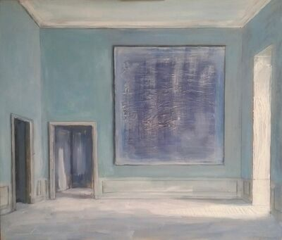 Pierre Bergian, 'The Blue Painting', 2018