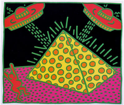 Keith Haring, 'Fertility #2 ', 1983