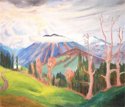 Erich Heckel, 'Gebirgslandschaft', 1922