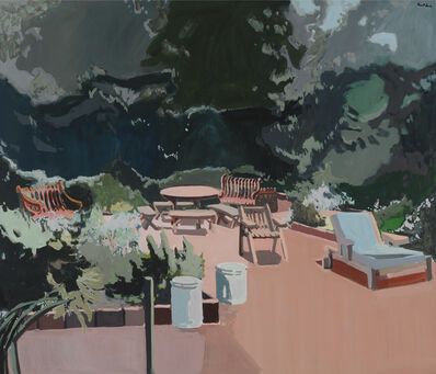 Robert Dash, 'The Terrace', 1975