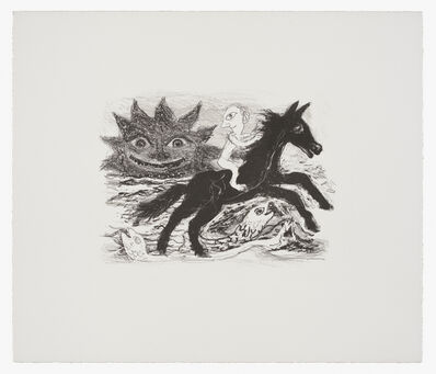 Ken Kiff, 'Man and Horse', 1985-1991