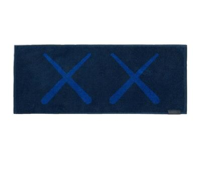 KAWS, 'KAWS: HOLIDAY Korea Towel (Navy)', 2018