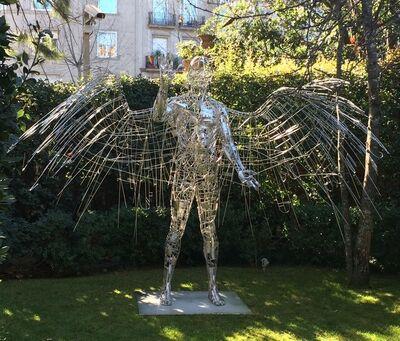 Jordi Díez, 'Winged Man', 2017