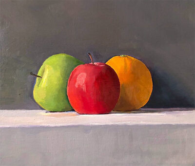 Dan McCleary, 'Two Apples and an Orange', 2020