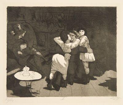 Otto Dix, 'Sailors in Antwerp', 1924