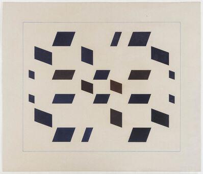 Hélio Oiticica, 'Metaesquema MET043', 1957
