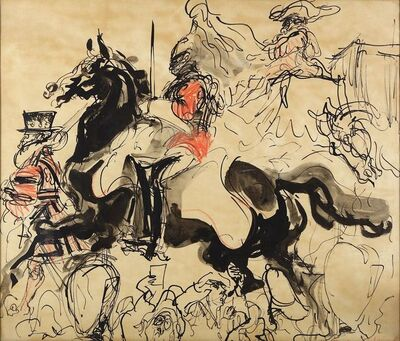 Feliks Topolski, 'The Coronation'