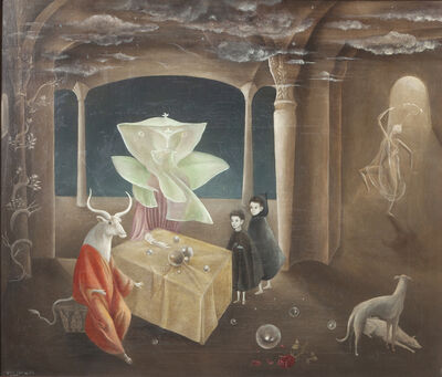 Leonora Carrington, 'And Then We Saw the Daughter of the Minotaur!', 1953
