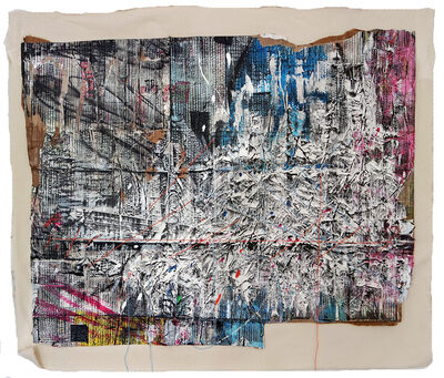 Dale Marshall, 'Cut up No. 8', 2014-2015