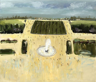 Tutu Kiladze, 'Landscape with Fountain', 2019