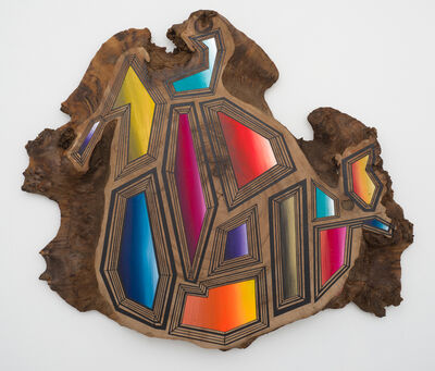 Jason Middlebrook, '13 Jewels on Top of Wood and Time', 2016