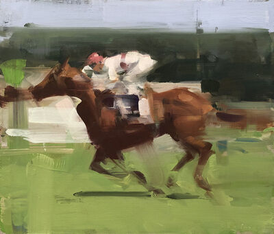 David Shevlino, 'Race Horse 1', 2016