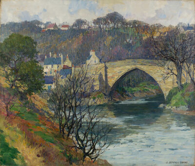 James J. Grant, 'The Brig O'Balgownie, Aberdeen, Scotland', 19th -20th Century