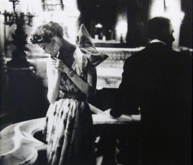Lillian Bassman, 'Paris Gala Night: Barbara Mullen in a Dress by Patou, Paris. Harper's Bazaar', 1949