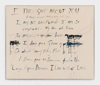 Tracey Emin, 'To Live without You', 2018