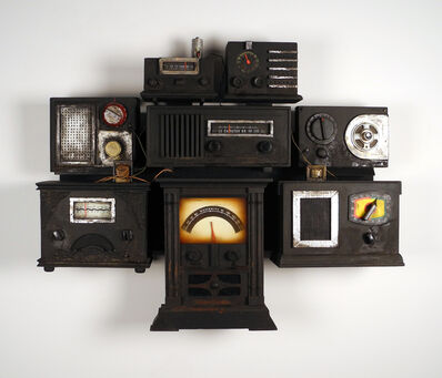 Renée Stout, 'Lay Your Hand on The Radio', 2009-2014